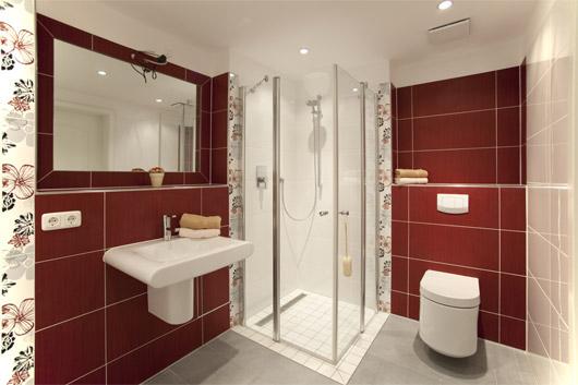 Beste badezimmer rot galerie innenarchitektur kollektion